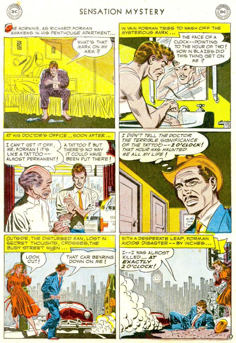 Read online Sensation (Mystery) Comics comic -  Issue #112 - 26