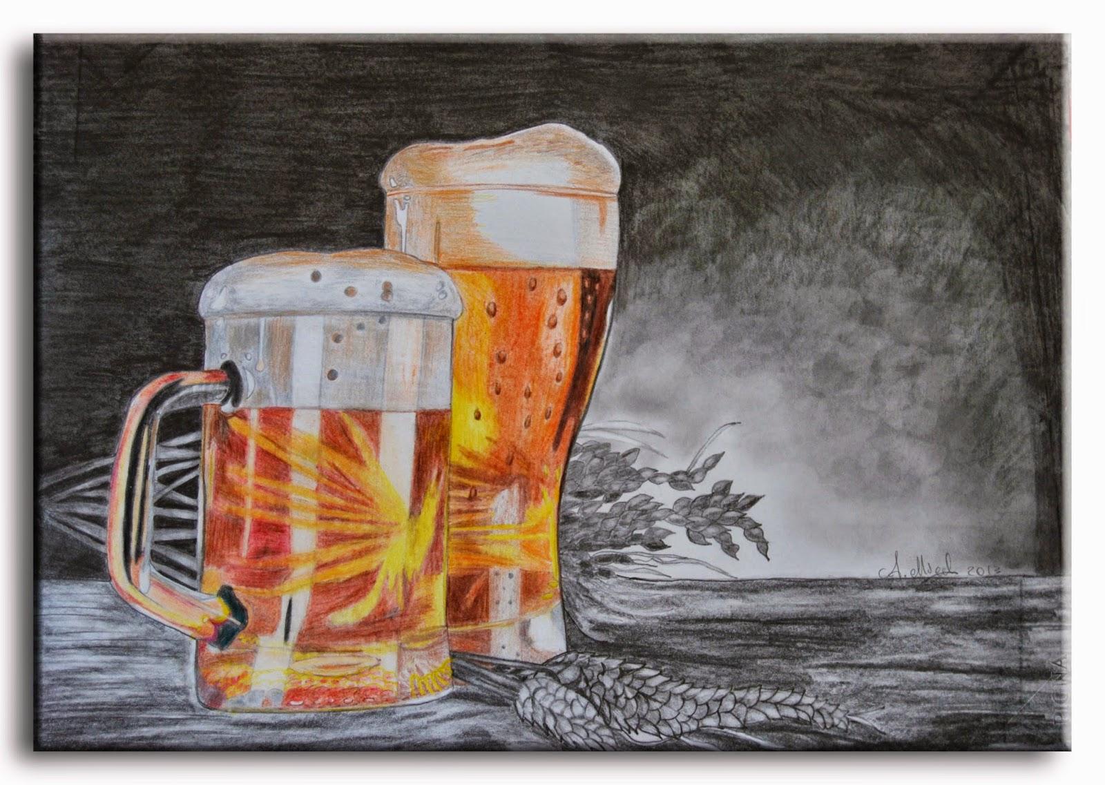 Larte E I Suoi Colori Il Boccale Di Birra