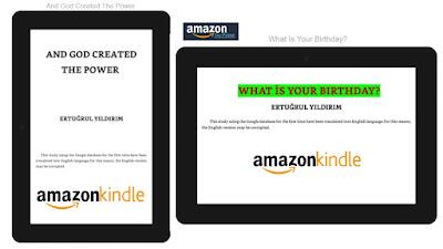İngilizce kitapların E-kitap versiyonu Amazon Kindle'de