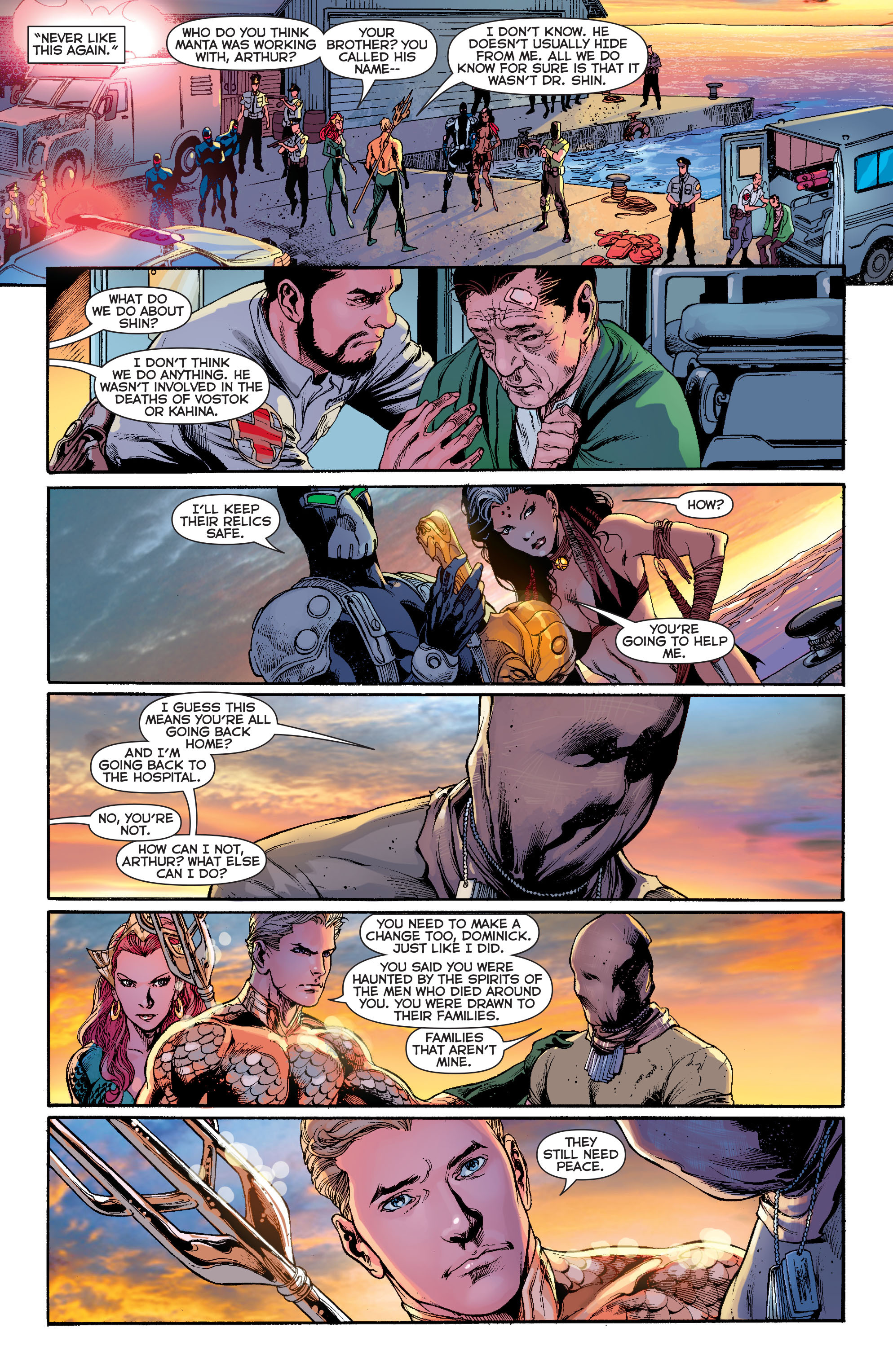 Read online Aquaman (2011) comic -  Issue #13 - 18