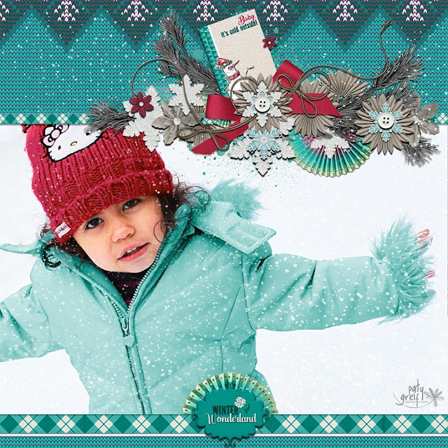 Hello Winter from Paty Greif Digital Designer