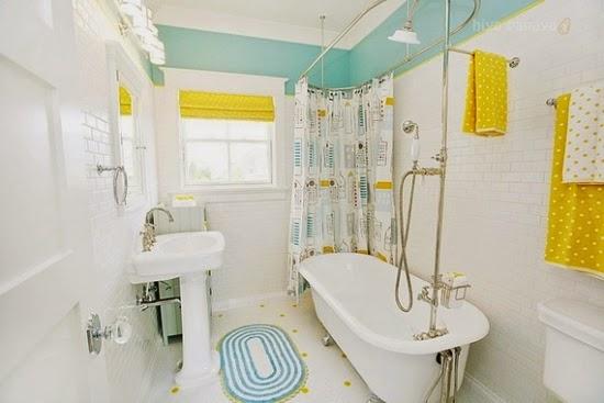 decoración baño para niños