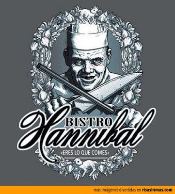 Meme de humor sobre Hannibal Lecter