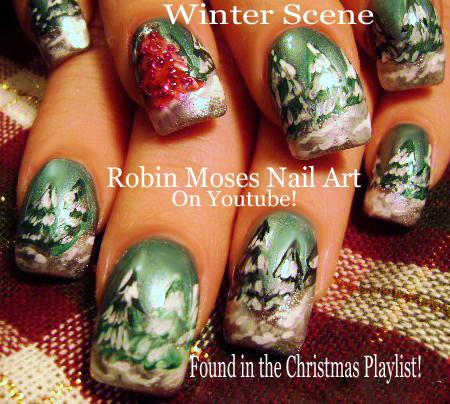 Nail Art By Robin Moses November 2017
