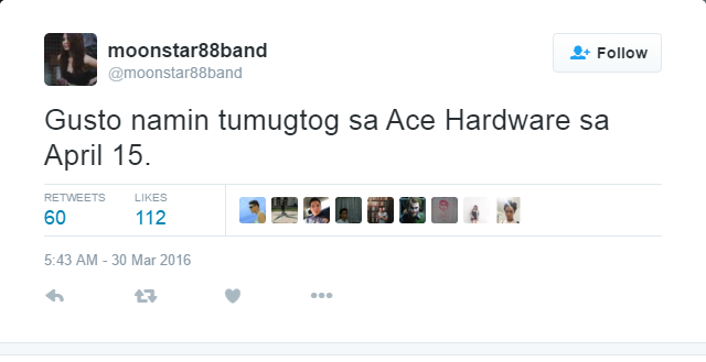Moonstar88 Band Suntukan sa Ace hardware