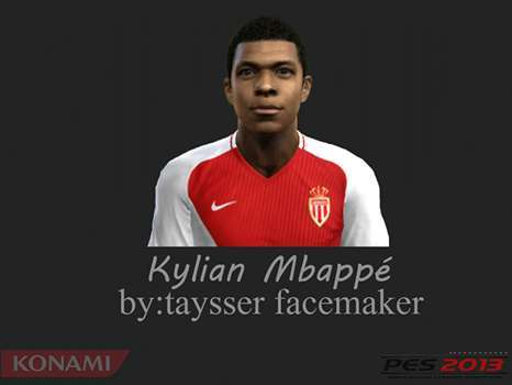 Kylian Mbappé Face PES 2013