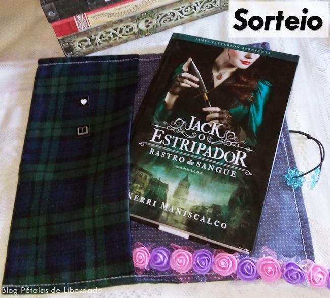 """SORTEIO: livro """"Rastro de sangue: Jack, o estripador"""", Kerri Maniscalco"""