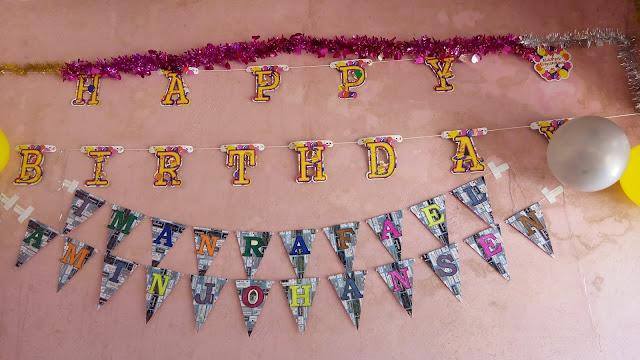 Happy Birthday lil' Amin berusia 2 tahun