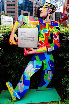 Momentum by David Dudu Gerstein, Raffles Place, Singapore