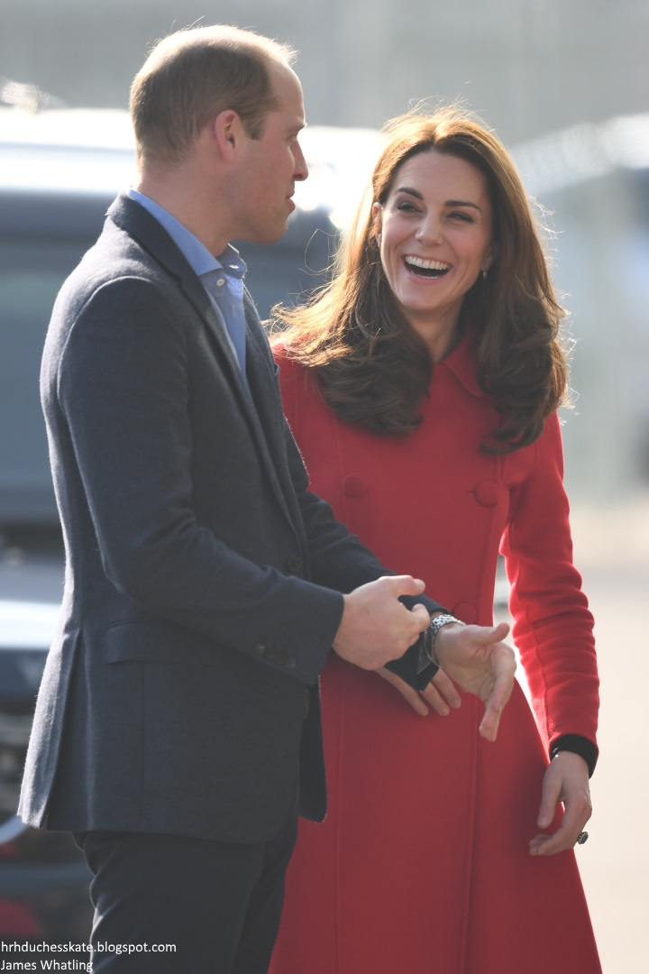 8886c535a2c03 Duchess Kate: The Baron and Baroness of Carrickfergus Begin Two-Day ...