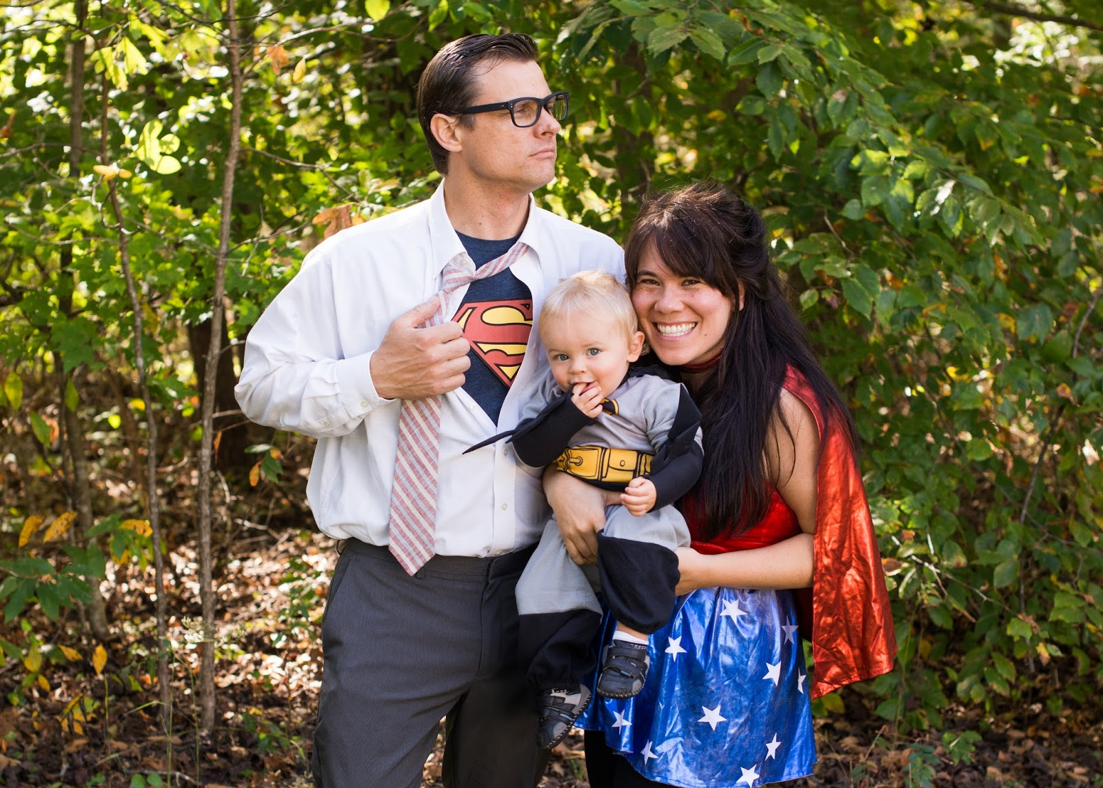 domestic fashionista: superhero family halloween costumes