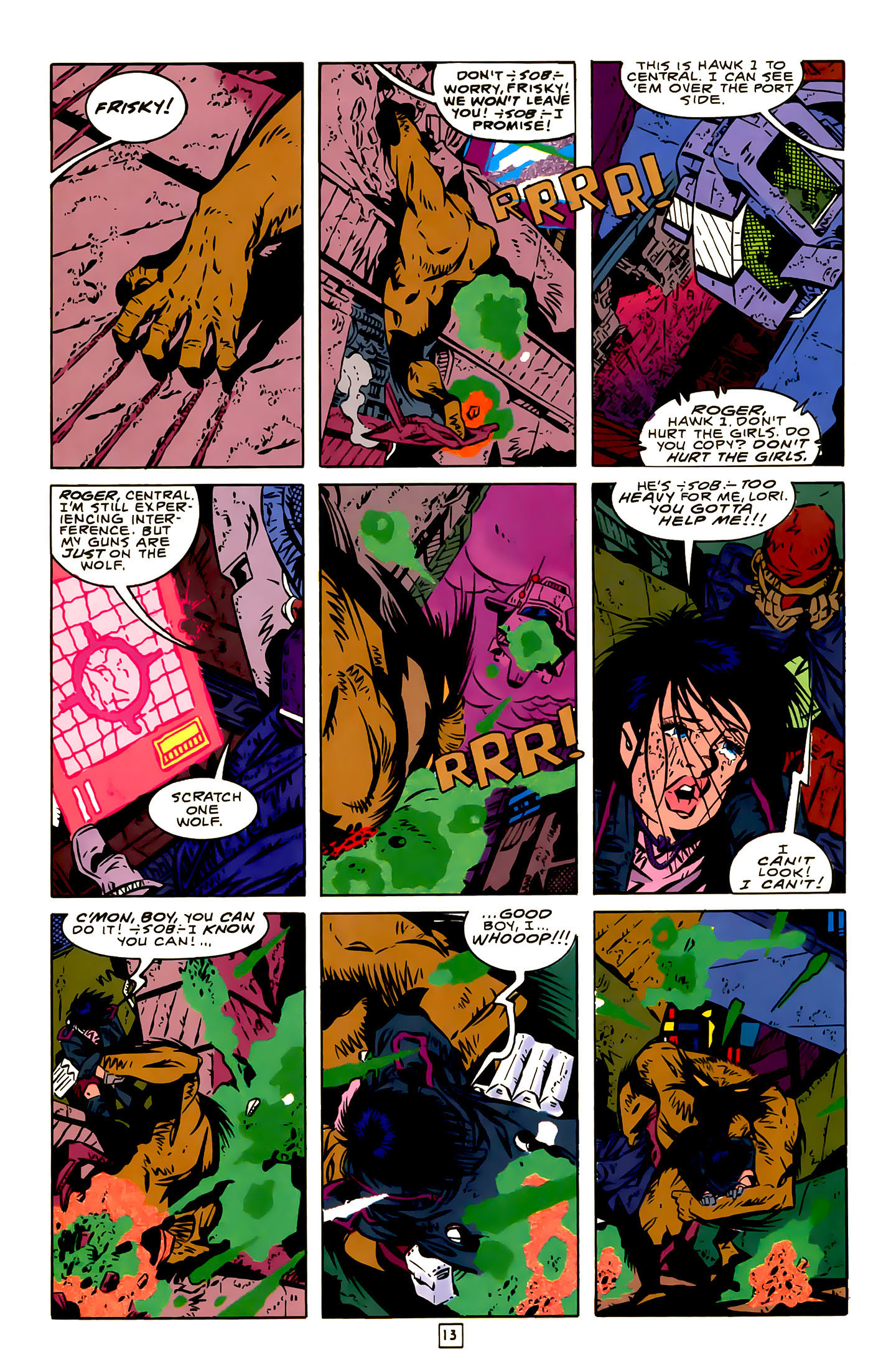 Legion of Super-Heroes (1989) 22 Page 13
