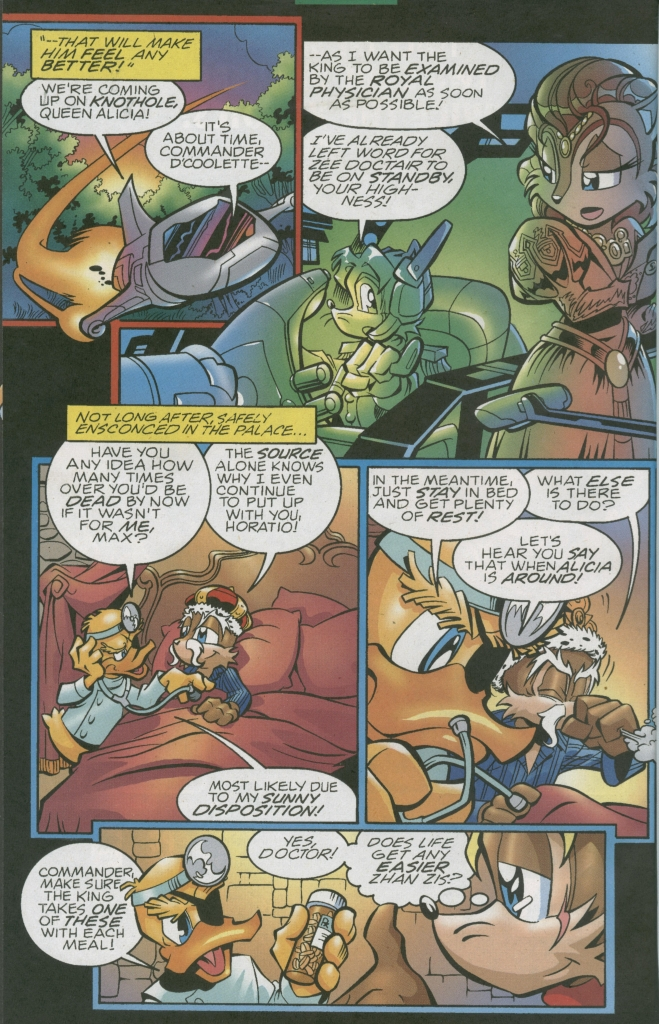 Read online Sonic The Hedgehog comic -  Issue #155 - 8