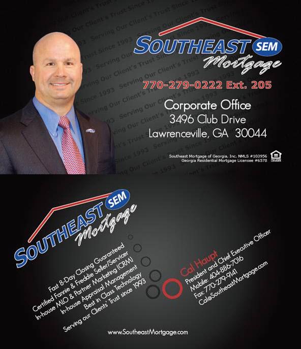 southeast mortgage of georgia  inc   message to the sem