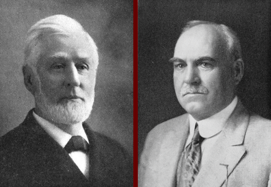 Burdett J. Johnson and his son Caleb Elliott Johnson