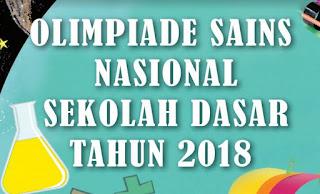 Juknis OSN SD/MI tahun 2018, www.librarypendidikan.com