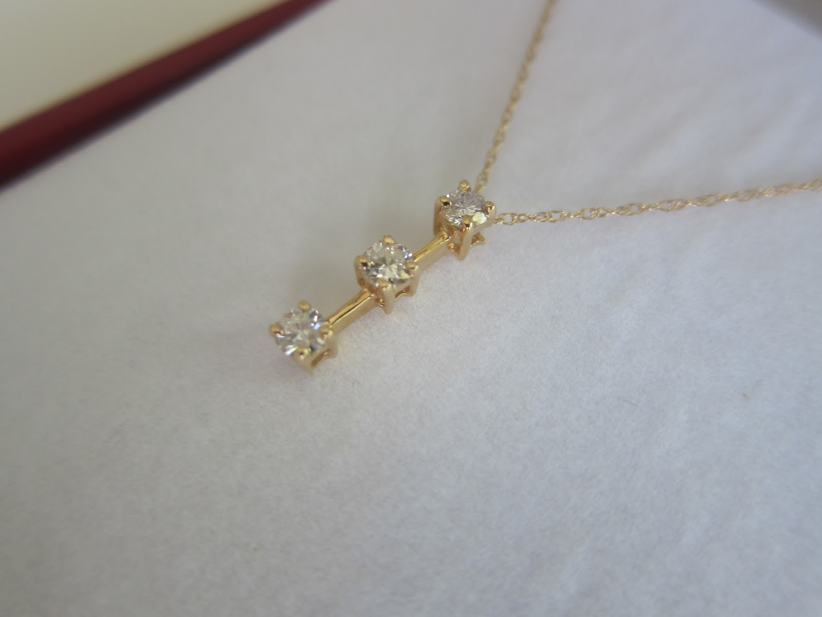 The Tales Of Two Item 89 Diamond Journey Necklace