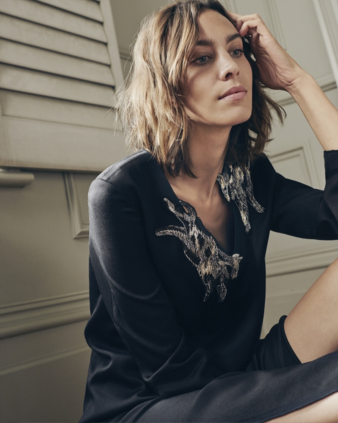 Alexa Chung by Nick Dorey for Obzee A/W 2016 Campaign