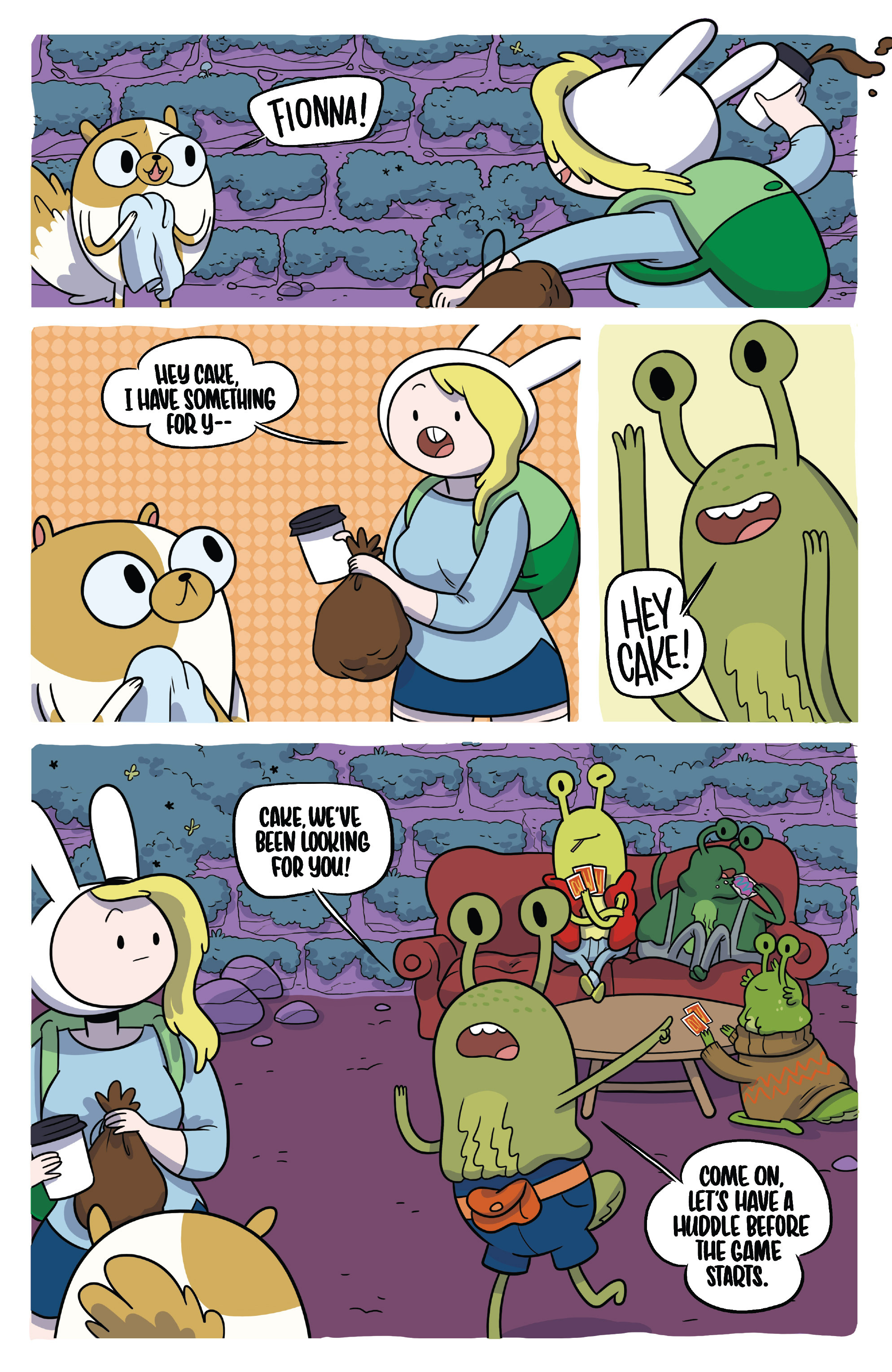 Read online Adventure Time Fionna and Cake Card Wars comic -  Issue #4 - 10