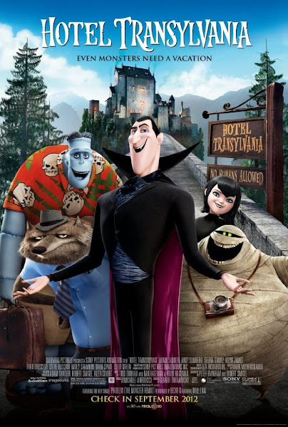 Poster of Hotel Transylvania 2012 Hindi 720p BRRip Dual Audio With ESubs Download