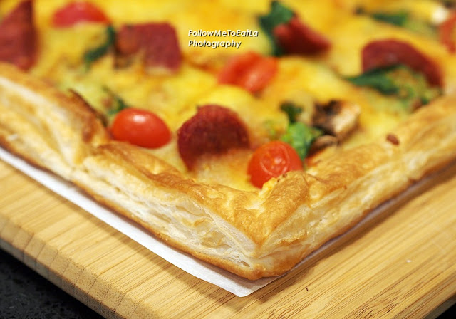 Buttery, Flaky & Light Puff Crust Of Fiery Beef Diavola