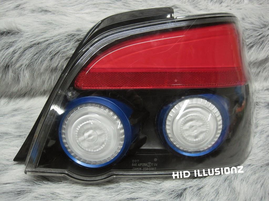 Hidilluzionz Subaru Sti Sequential Led Taillight Retrofit