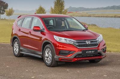 Honda CR-V S Plus (2017) Front Side
