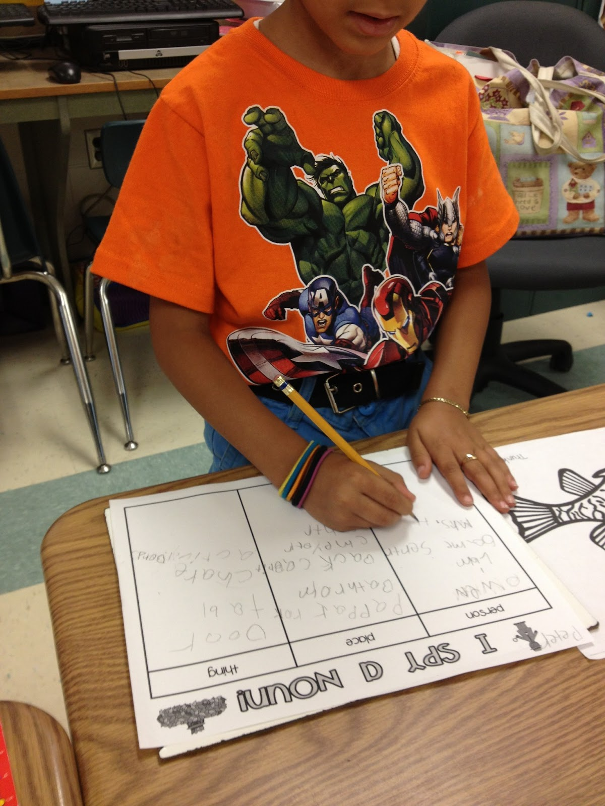 First Grade And Flip Flops Mission Nouns