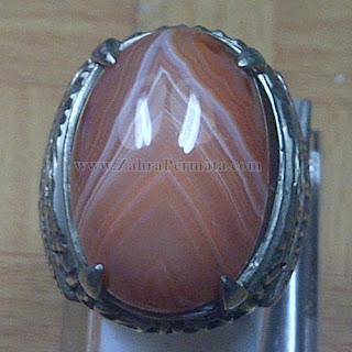 Cincin Batu Agate Junjung Derajat - ZP 1025