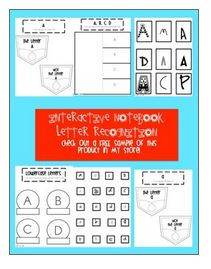 https://www.teacherspayteachers.com/Product/Interactive-Notebook-Letter-Identification-1314079