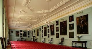 Palacio Holyroodhouse, la Gran Galería.