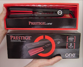 ONE Styling's Prestige 2-Inch Waver Styling Tool opened in box.jpeg