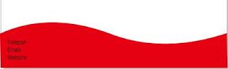 desain kop surat merah