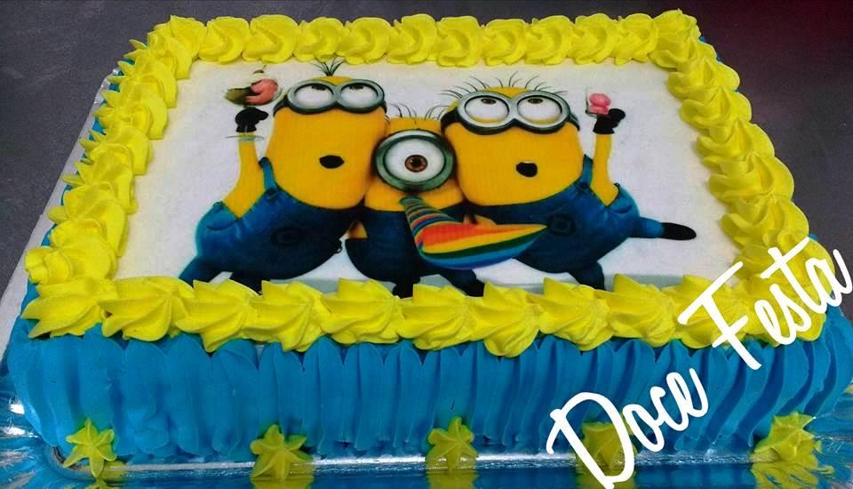 Populares Bolos personalizados, foto no bolo, KIT FESTA, SALGADINHOS 19  WT17