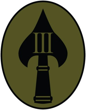 III Shoulder Patch