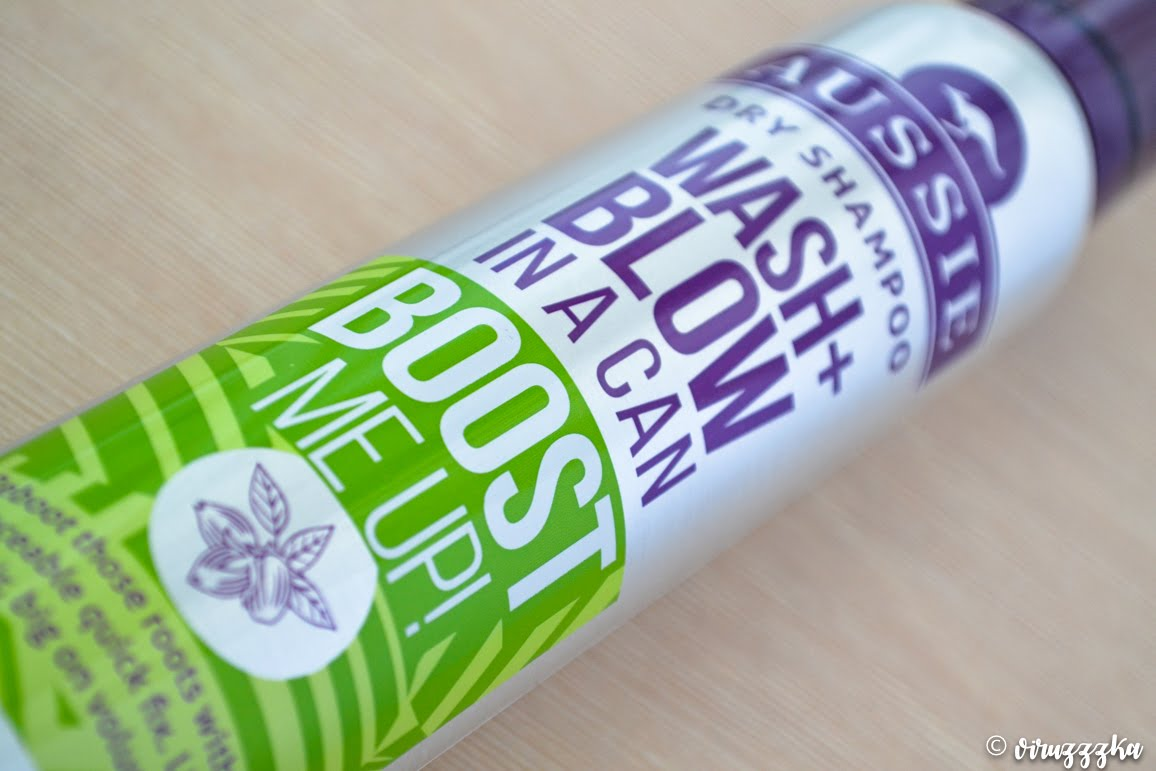 Aussie Dry Shampoo Wash + Blow in a Can Boost Me Up! Review