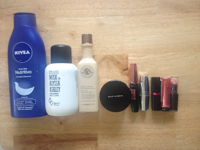 July Empties and Decluttering