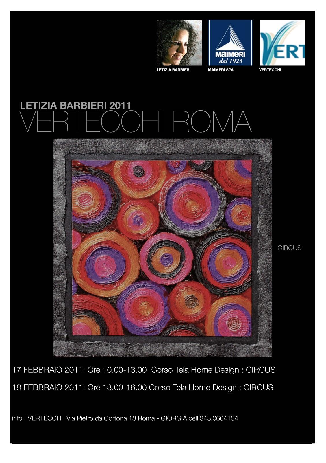 Letizia barbieri corsi home design letizia barbieri for Home design roma