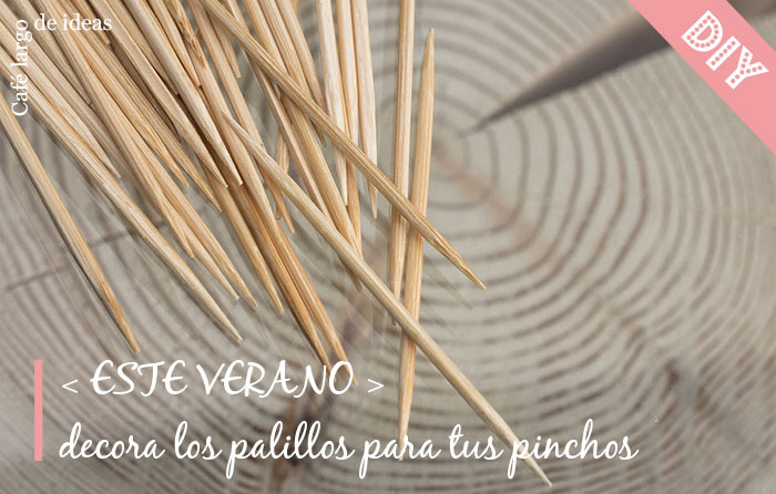 DIY decoración palillos