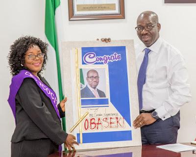 Obaseki restates commitment to improve education