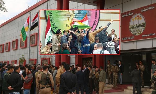Kerkük Kürdistan Kürt Bayrağı Irak Türkmen Cephesi ITC