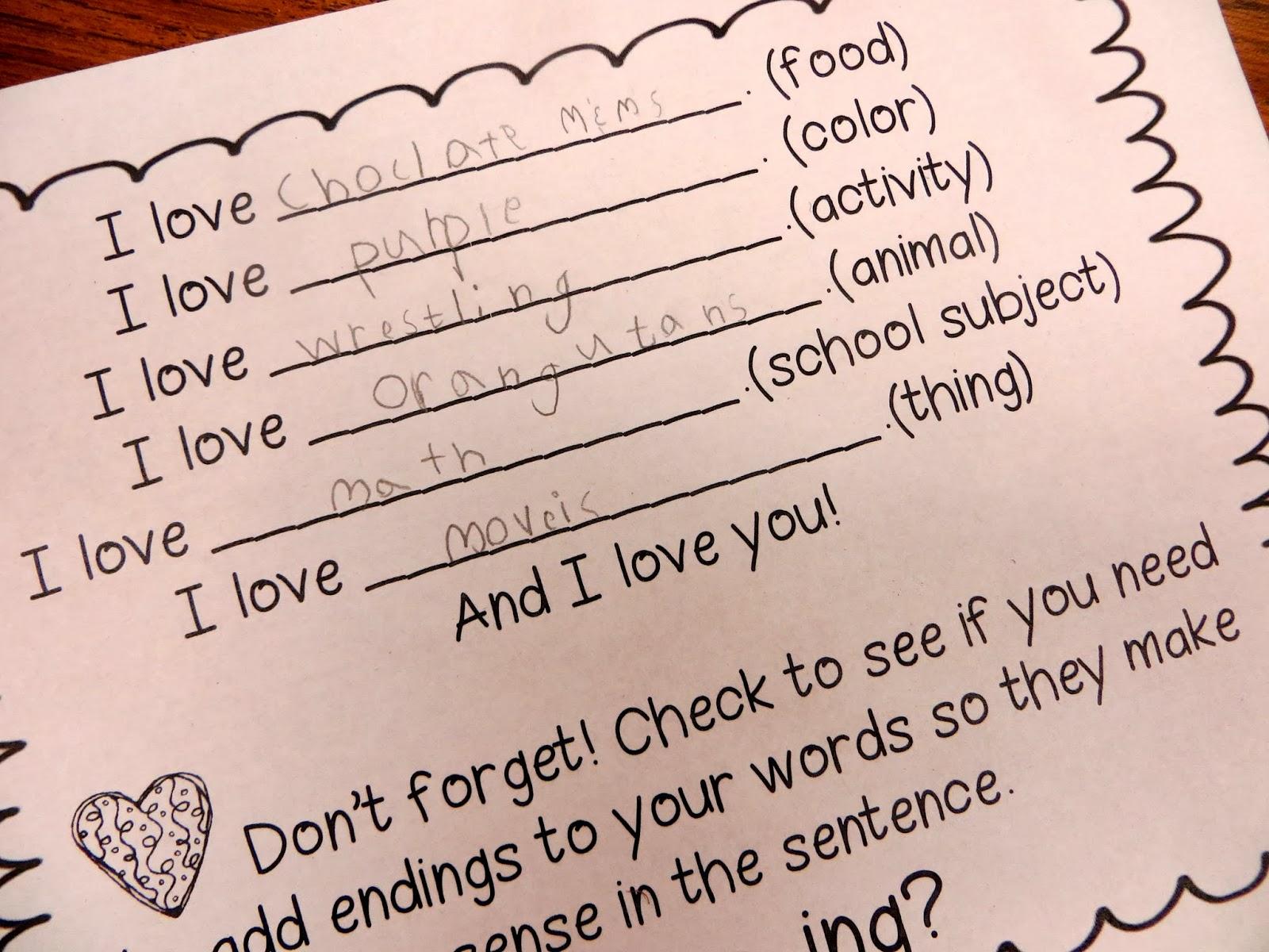 I Heart Inflectional Endings   First Grade Wow   Bloglovin' [ 1200 x 1600 Pixel ]