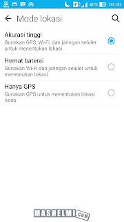 Cara Membuat GPS Lebih Akurat Di Zenfone