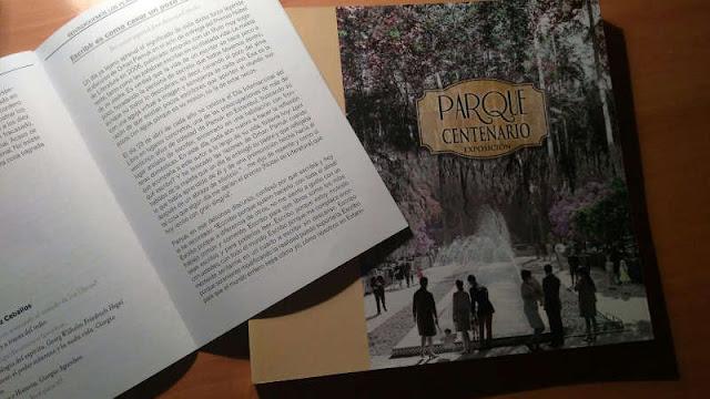 Textos de ISA lee en la Feria del libro 2017 y el libro Parque Centario Exposición