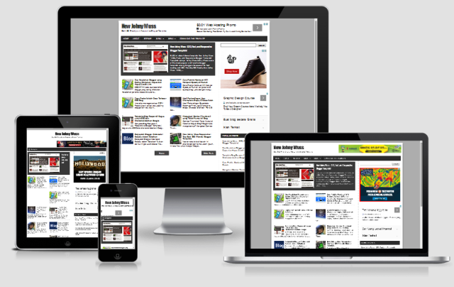 New Johny Wuss -  Responsive Template