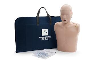 Manekin CPR Anak Merk Prestan PP-CM-100M