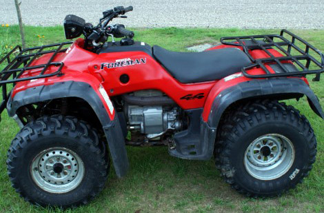 2000 honda trx400fw  fourtrax foreman 400 owner u2019s manual
