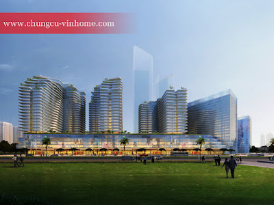 Dự án bao gồm 6 khối nhà