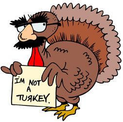 Thanksgiving Day Funny Turkey Pictures