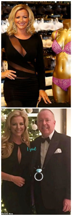 Michelle Mone, confirmed her engagement to billionaire businessman Doug Barrowman.